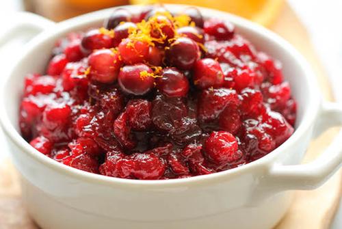 Simple Cranberry-Orange Sauce