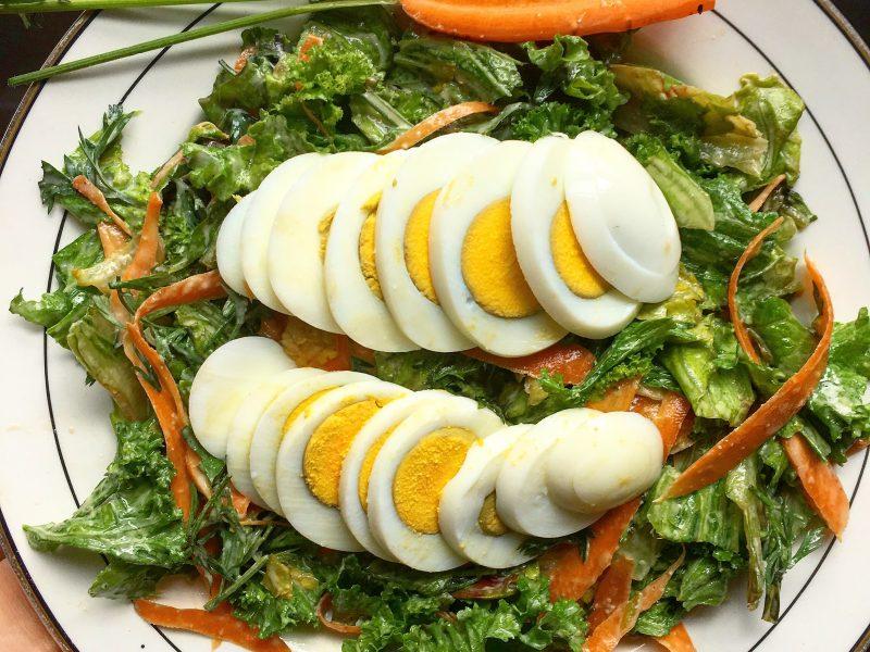 Nutty Kale Salad
