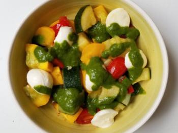 Basil Dressed Vegetables